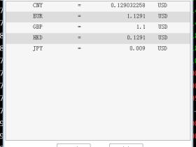 逸富国际出入金汇率,欧元汇率,港币汇率是多少?